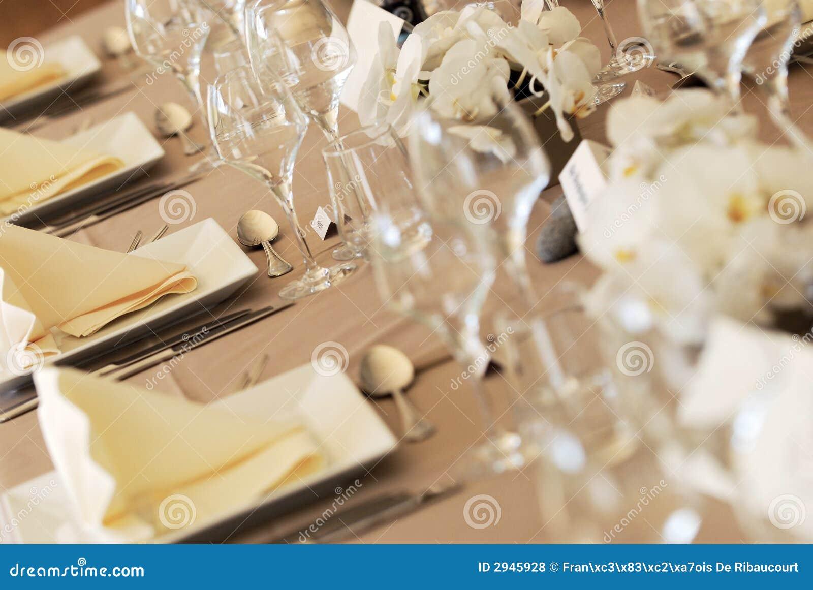 Tabela w ślub