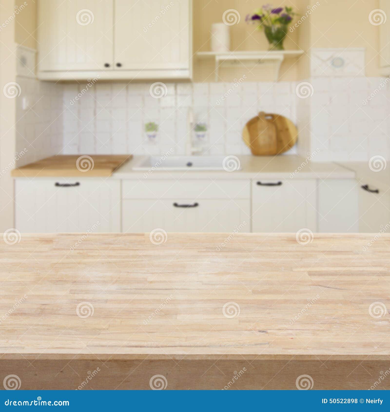 Tabell i ett kök