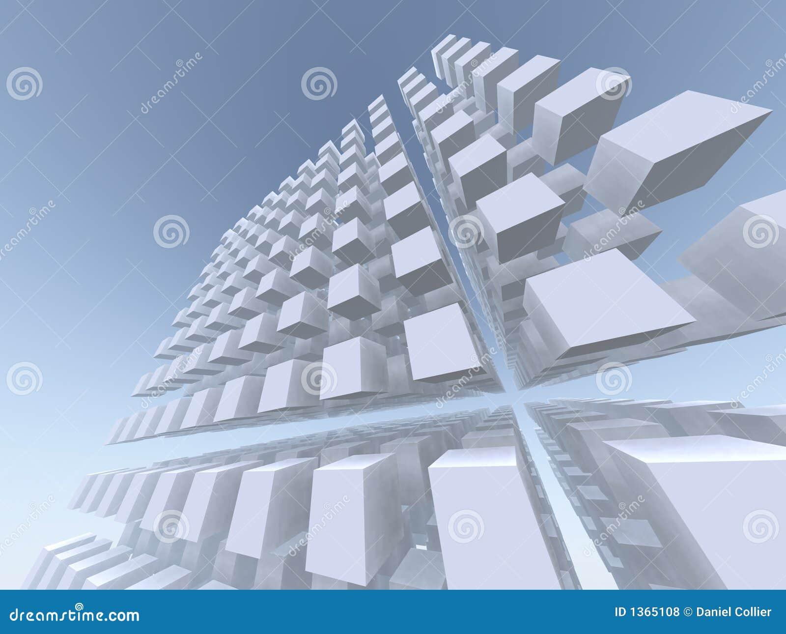 Tabella alta e vertiginosa del cubo