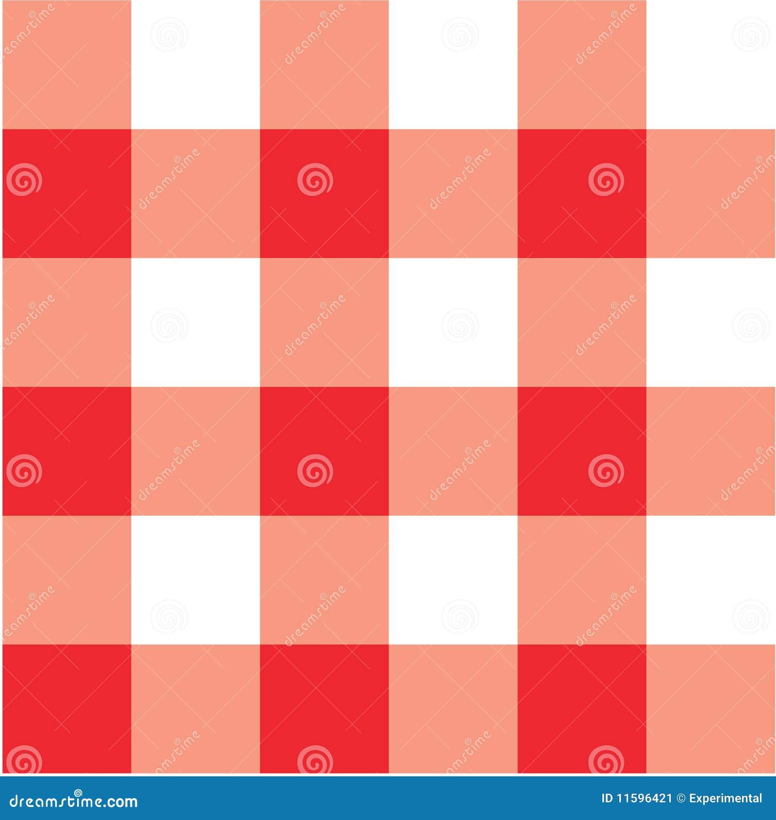 tabella di colore rosso del plaid di picnic del panno illustrazione vettoriale illustrazione. Black Bedroom Furniture Sets. Home Design Ideas