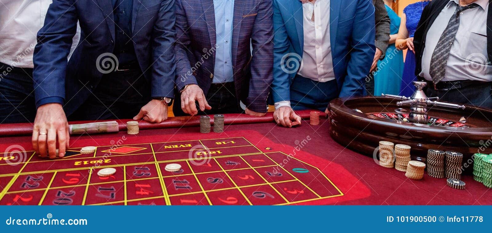 Tabelle mit Rouletten