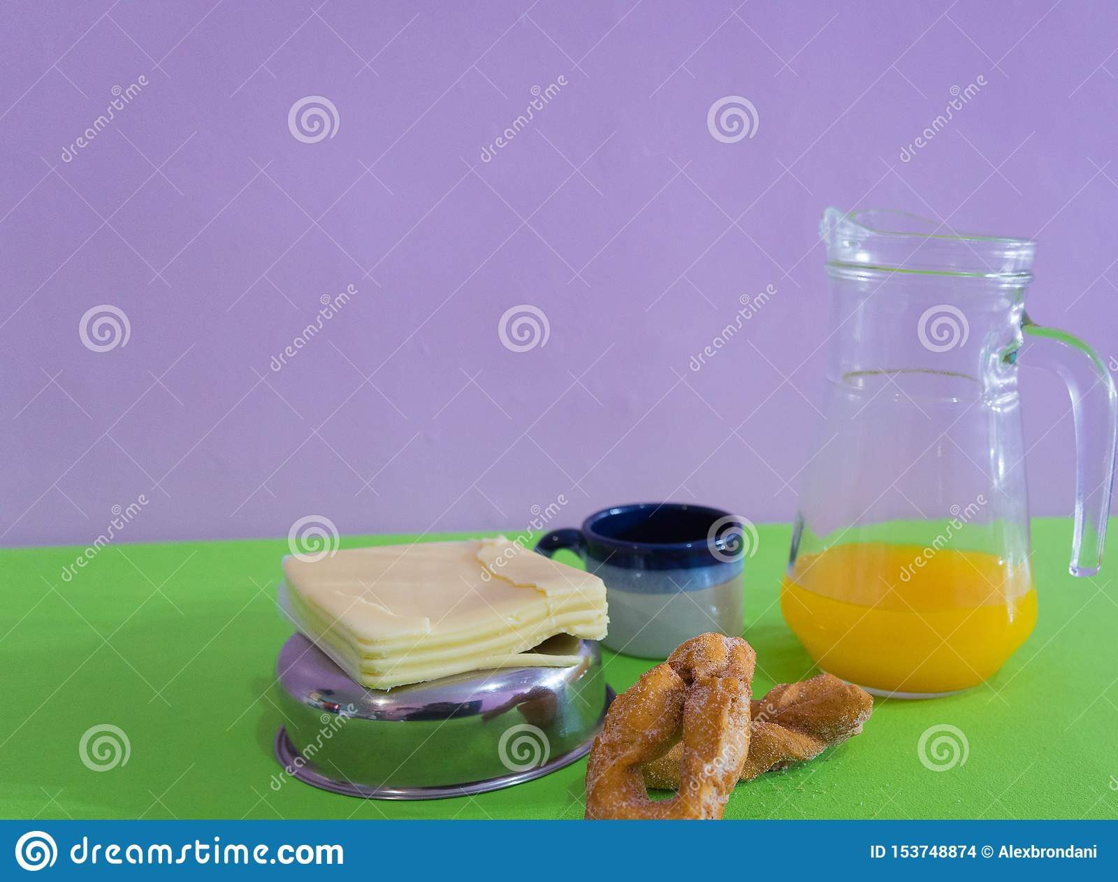 Tabellen tjänade som för eftermiddagfrukost 02