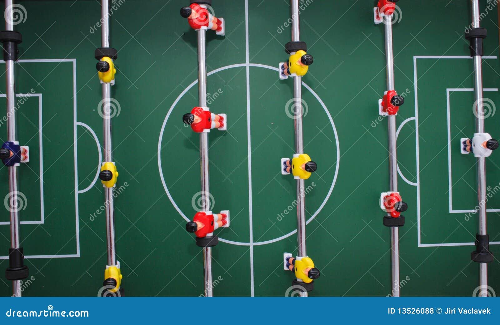 Tabellenfußballhintergrund