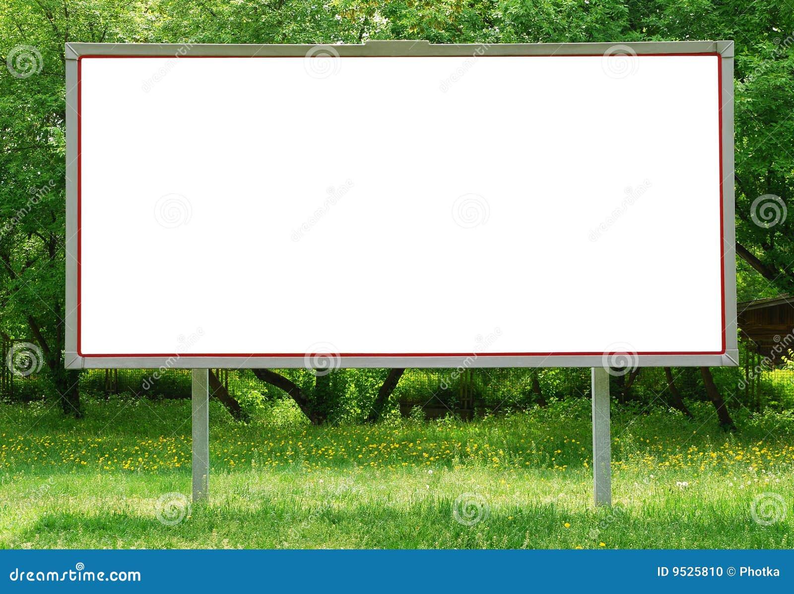 Tabellone per le affissioni
