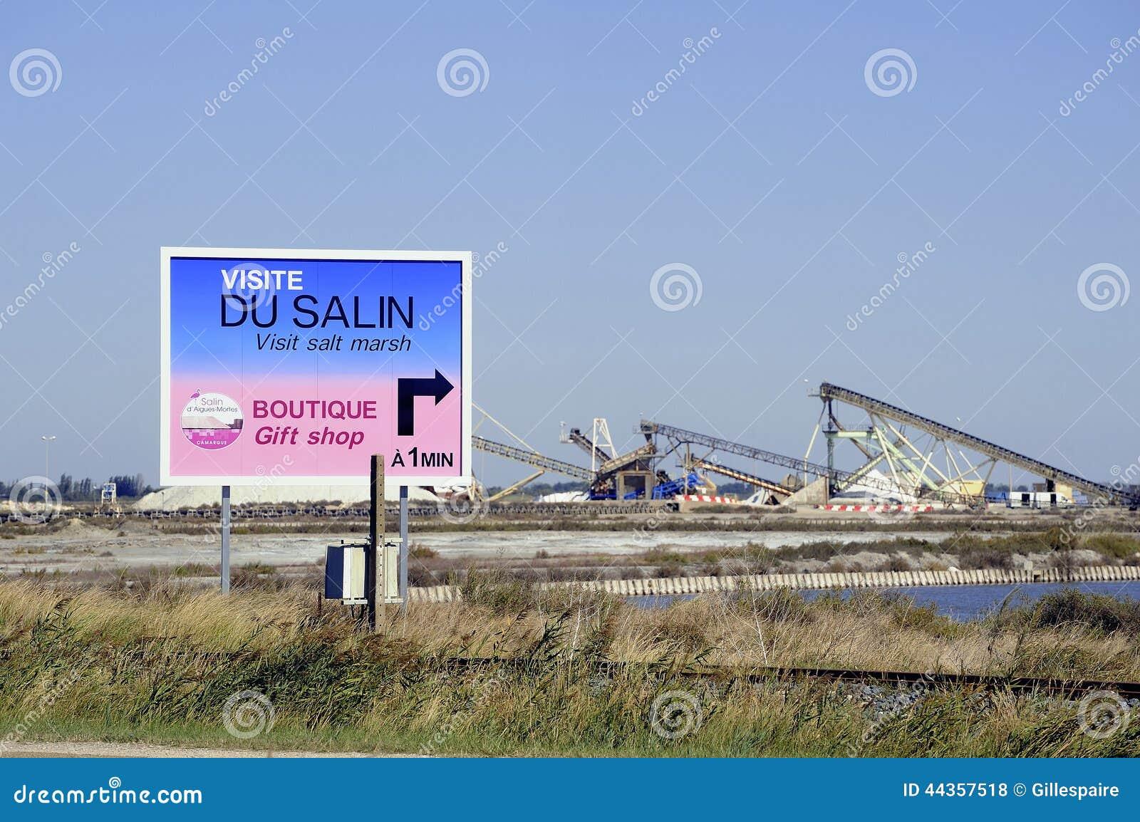 Tabellone per le affissioni Aigues-Mortes salino