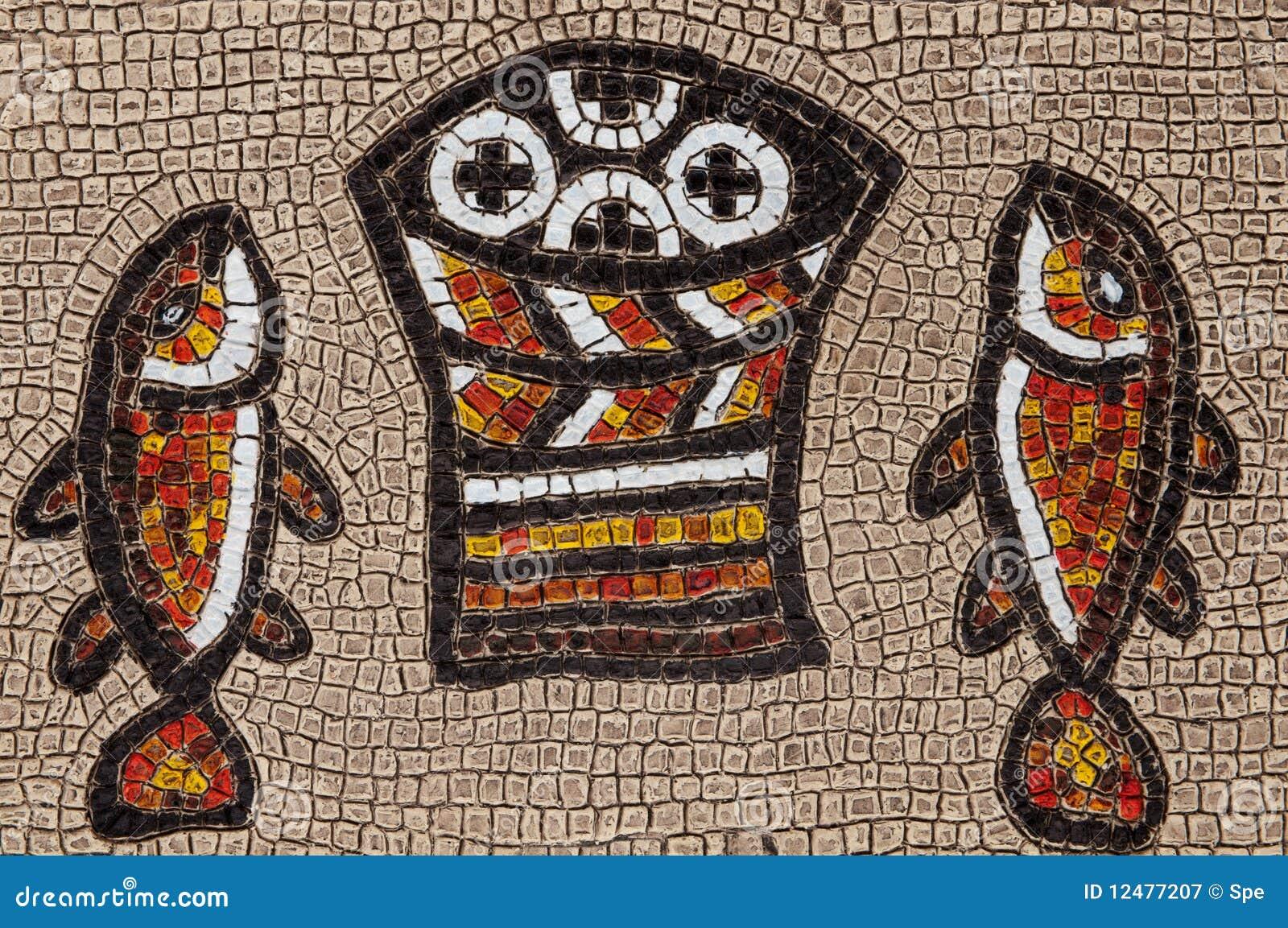 Tabgha Mosaic Royalty Free Stock Photography Image 12477207