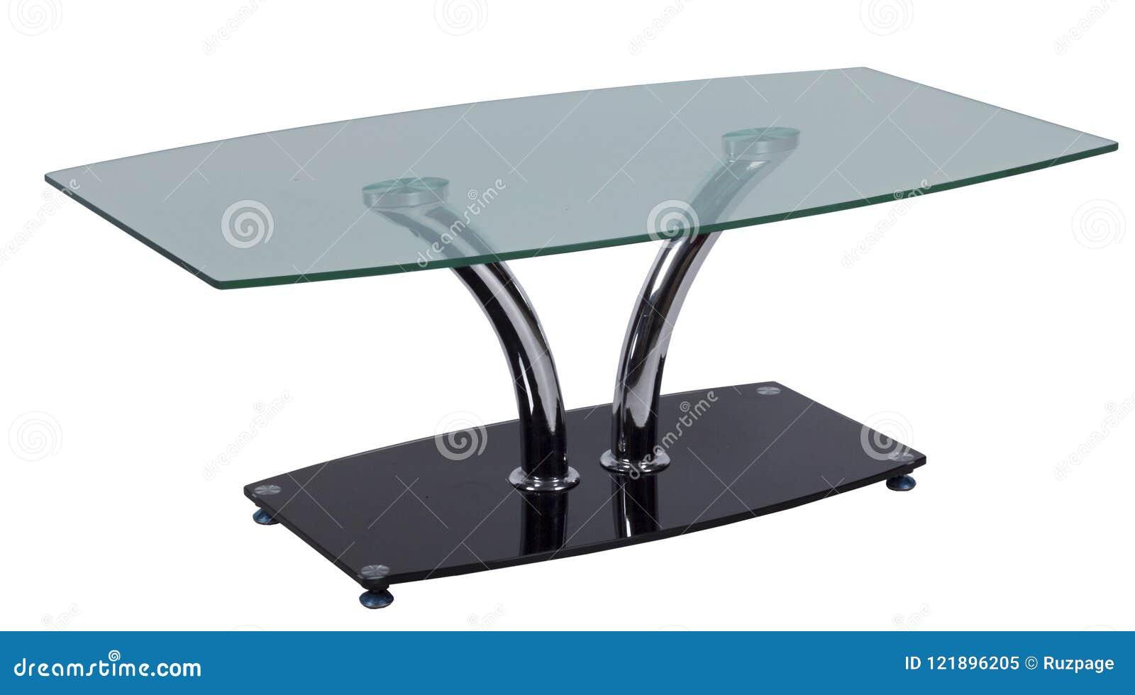 Tabla con un vidrio tablero