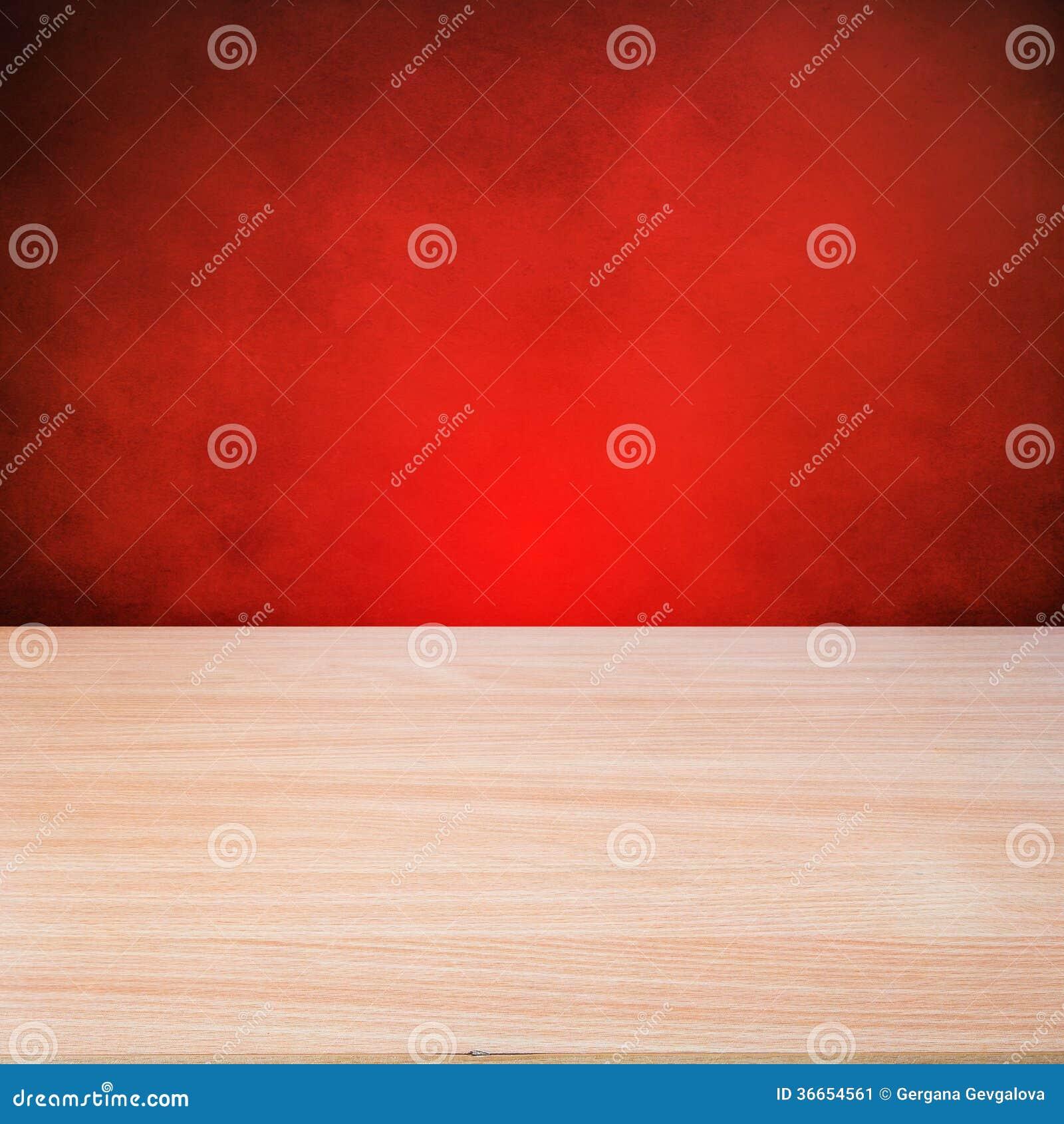 Tabla de madera vacía