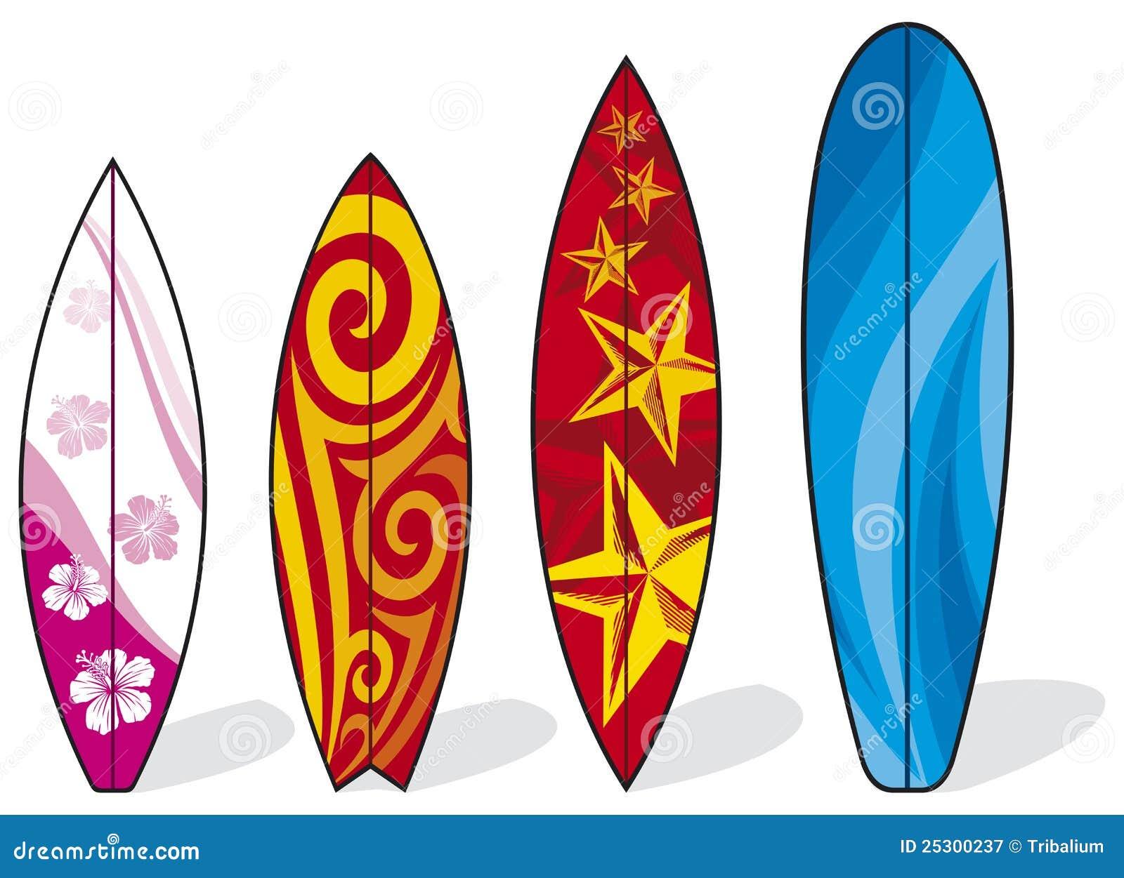 Tablas hawaianas ilustraci n del vector ilustraci n de - Fotos de tabla de surf ...