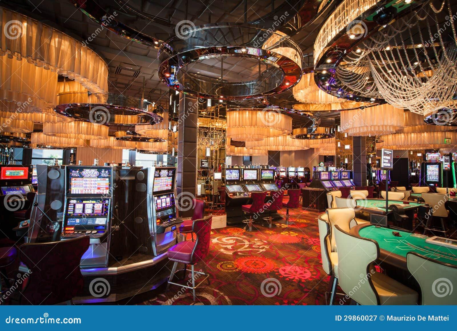 Interior del casino