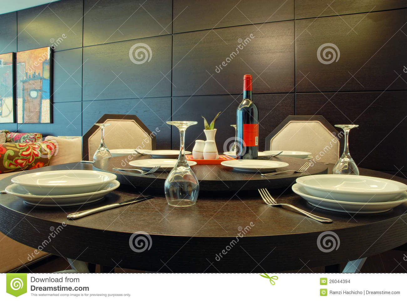 table arrangement in an expensive haute cuisine restaurant stock images image 26044394. Black Bedroom Furniture Sets. Home Design Ideas