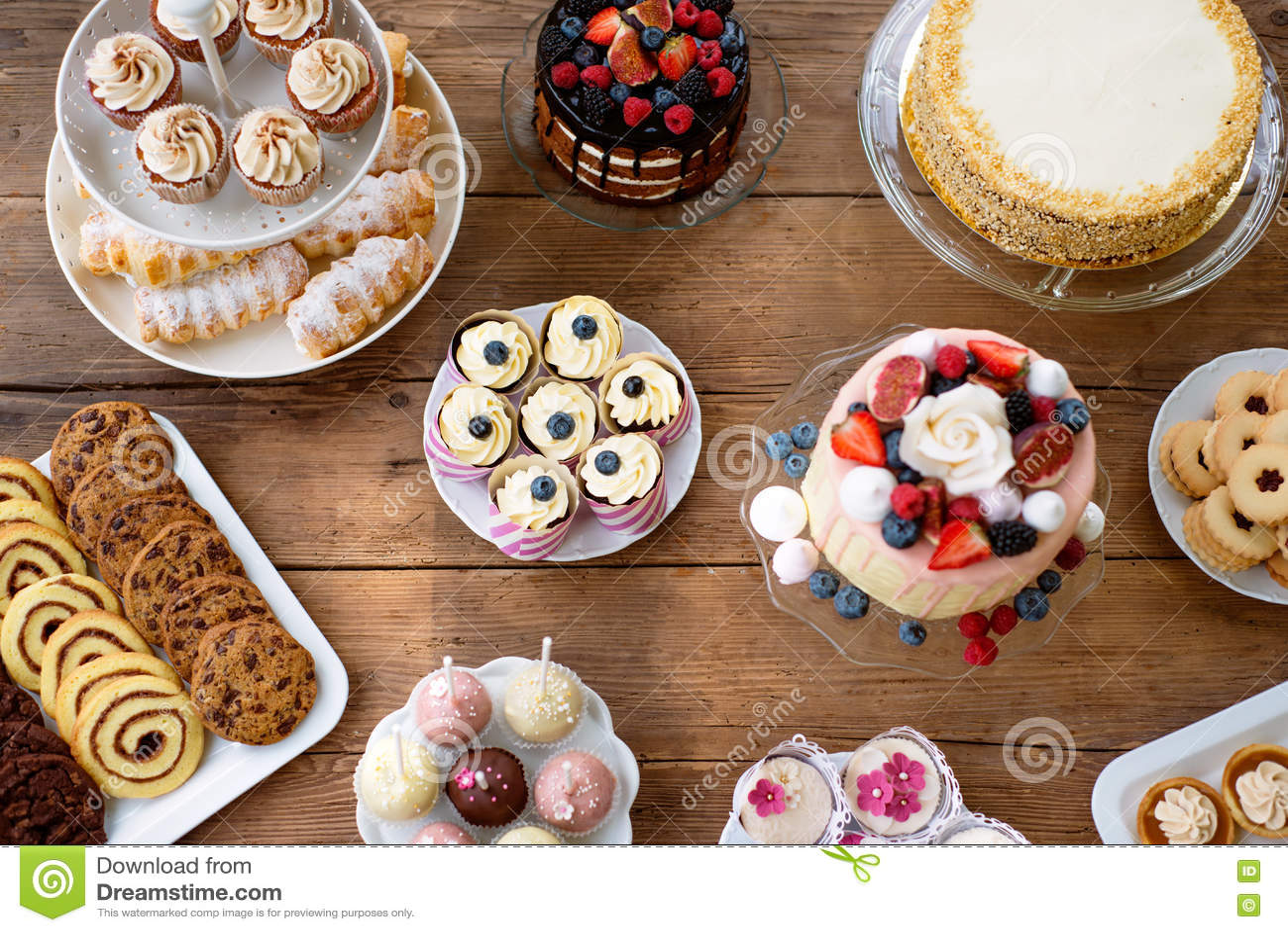 Holiday Wedding Cake Cookies
