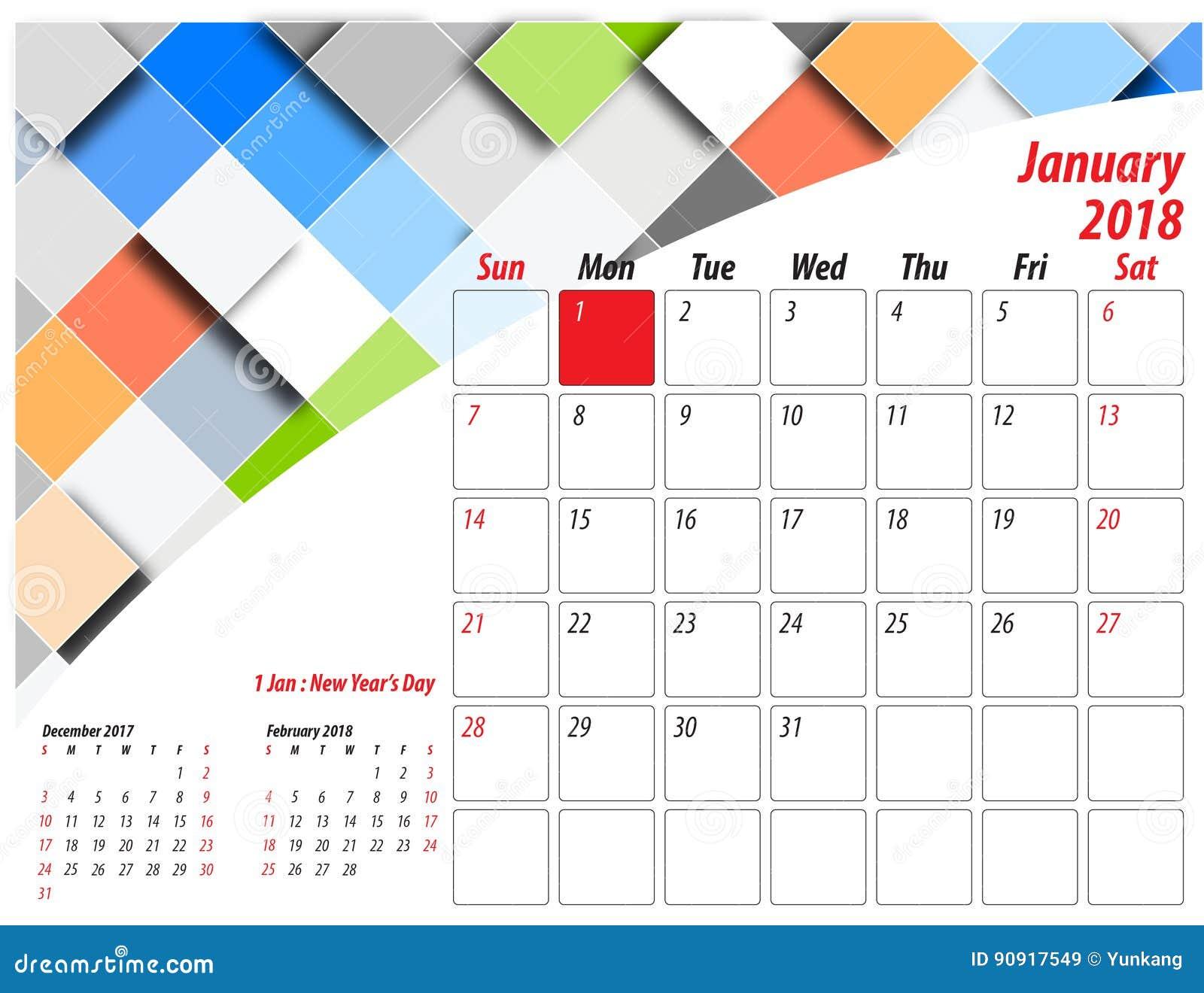 Table Calendar Size : Table calendar stock vector illustration of december