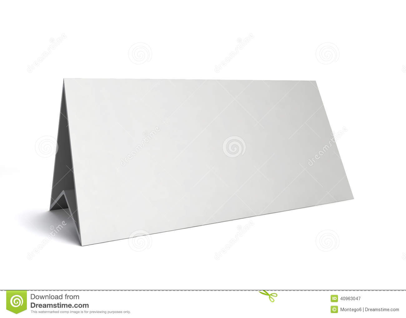 Table Card Stock Illustration - Image: 40963047