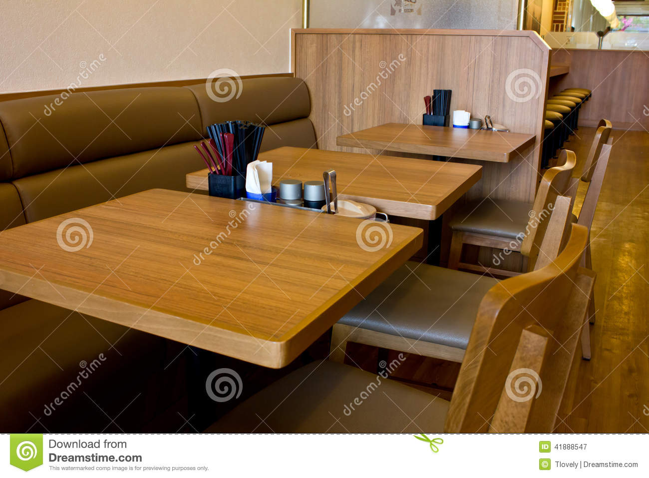 Table And Chair Design Restaurant Stock Image Image Of High - Table and chair design for restaurant