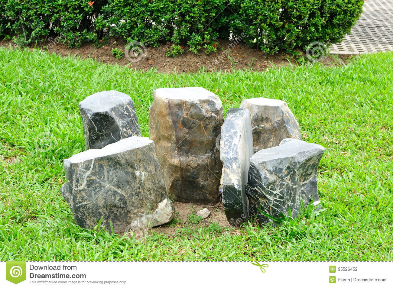 Exceptional Table And Chairs Set Made From Rock. Nature, Outdoor.