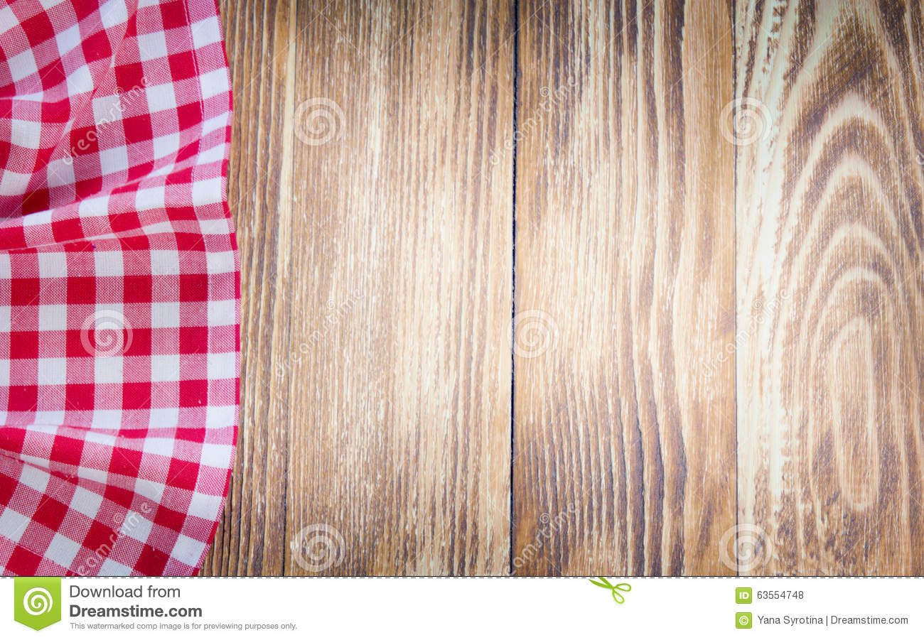 Picnic table background - Table Cloth On Wooden Background Fastfood Concept Royalty Free Stock Photos