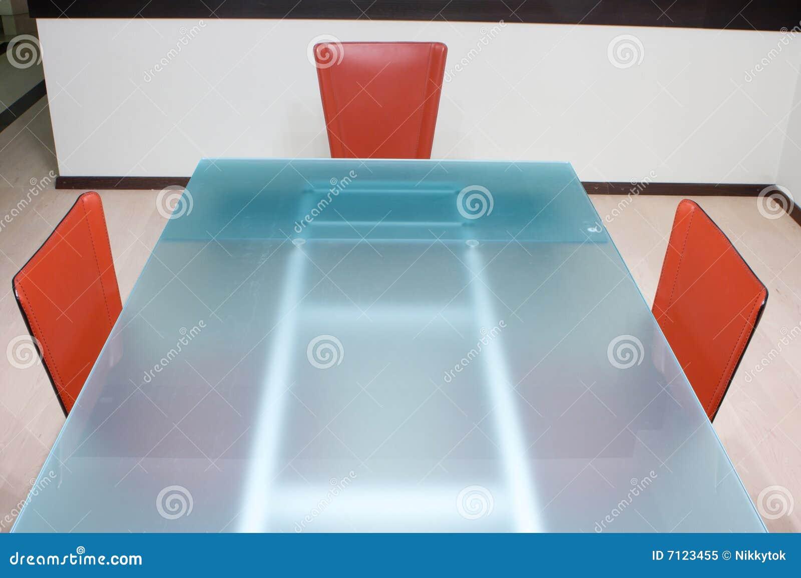 Table de cuisine moderne photo libre de droits image 7123455 - Table de cuisine moderne ...