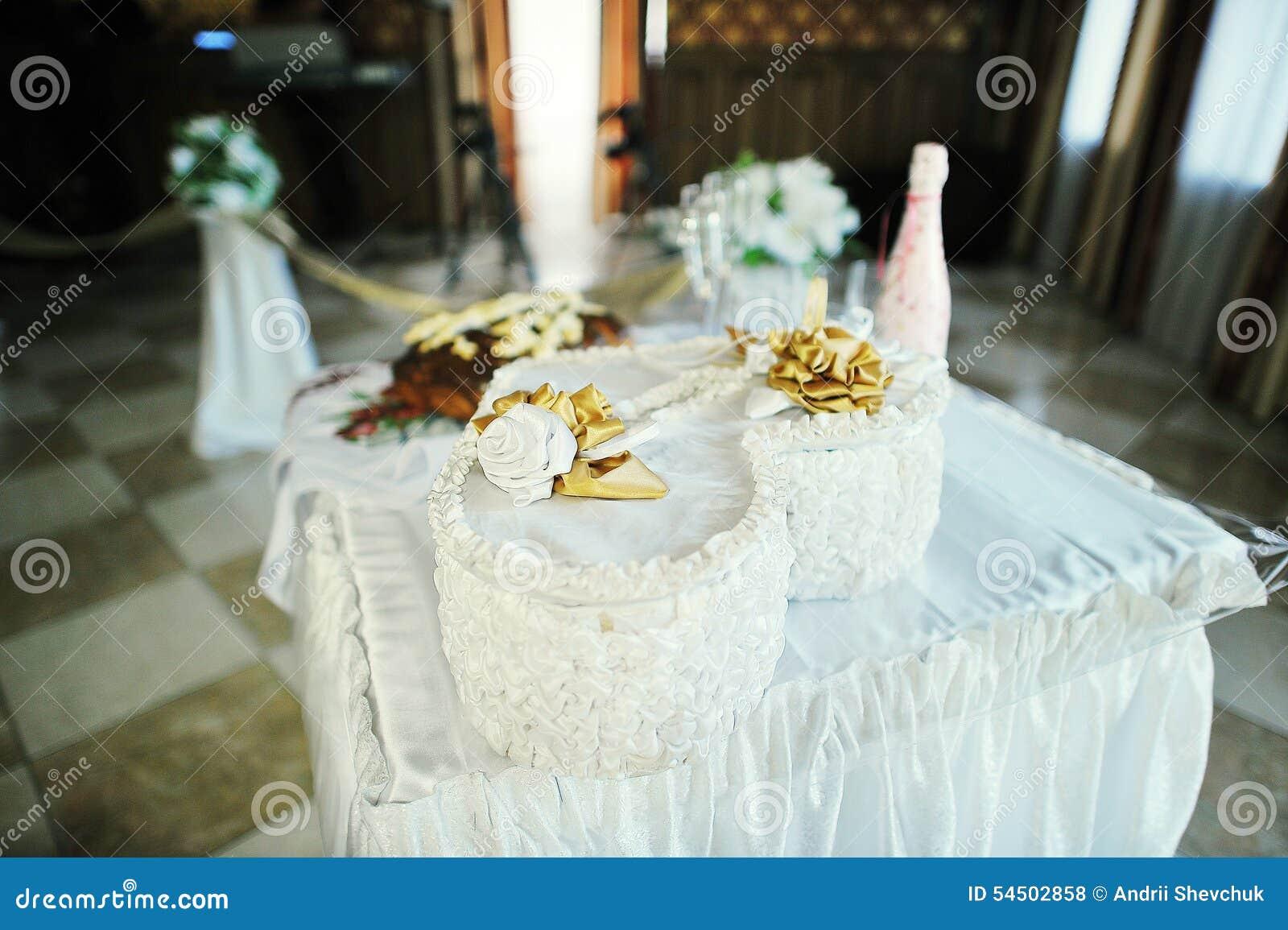 Table de décor de mariage