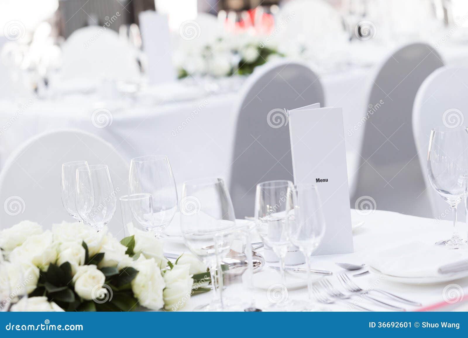 Table de mariage