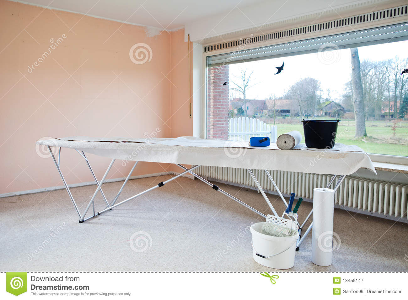Table de papier peint