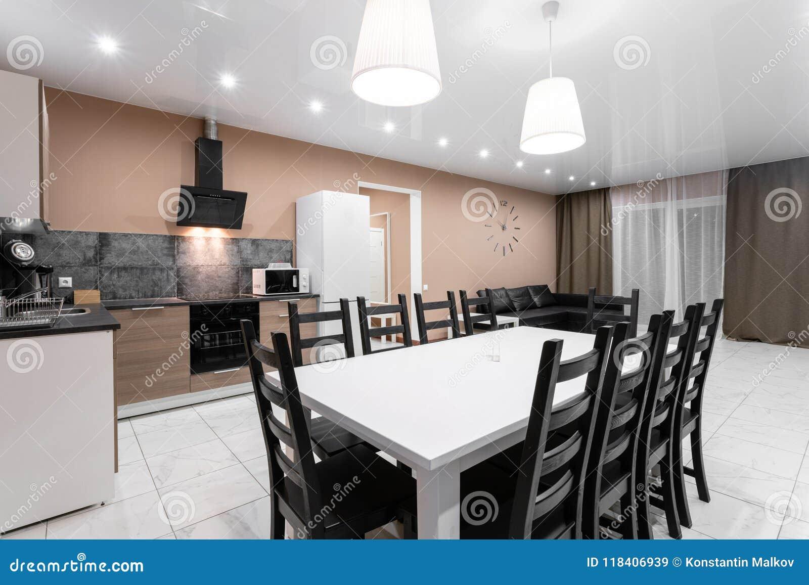 Table Pour Salle À Manger table de salle à manger pour dix personnes intérieur moderne