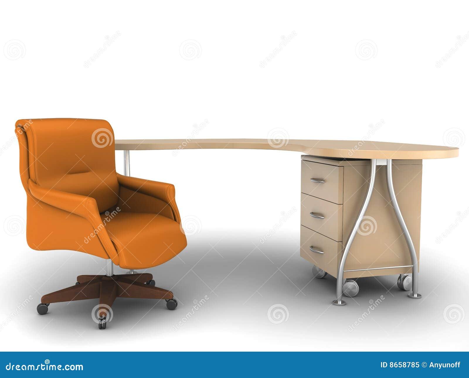 Table de travail de bureau de présidence