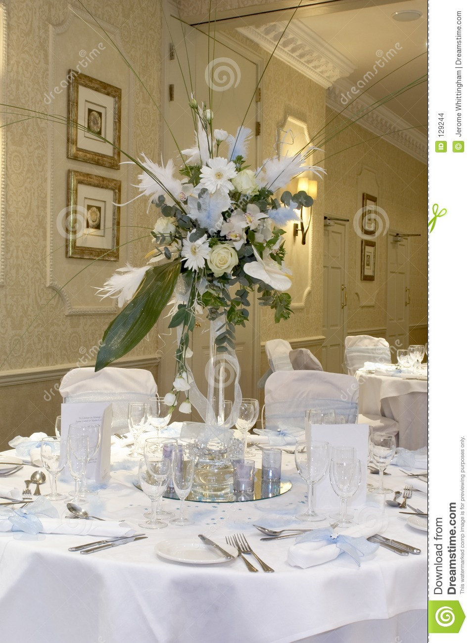 Table Decorations Stock Images - Image: 129244