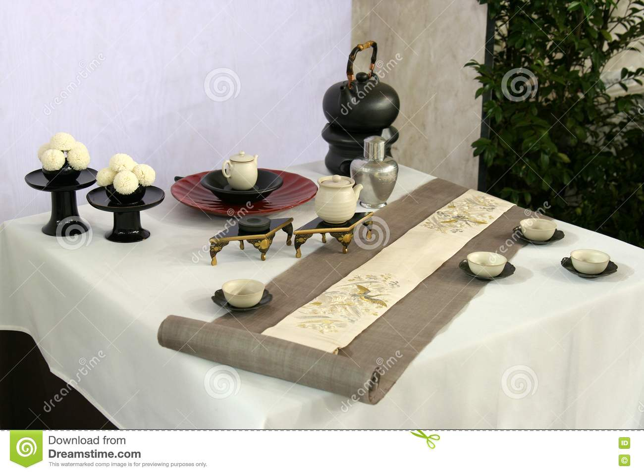 table design in japan stock photos image 8704153