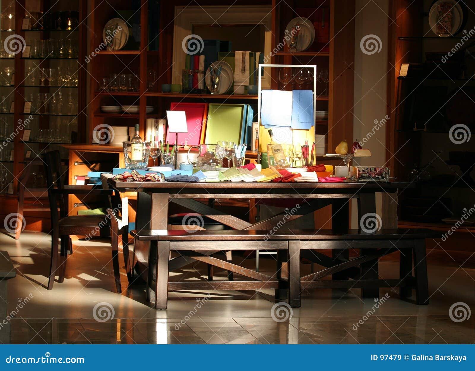 Table dinante