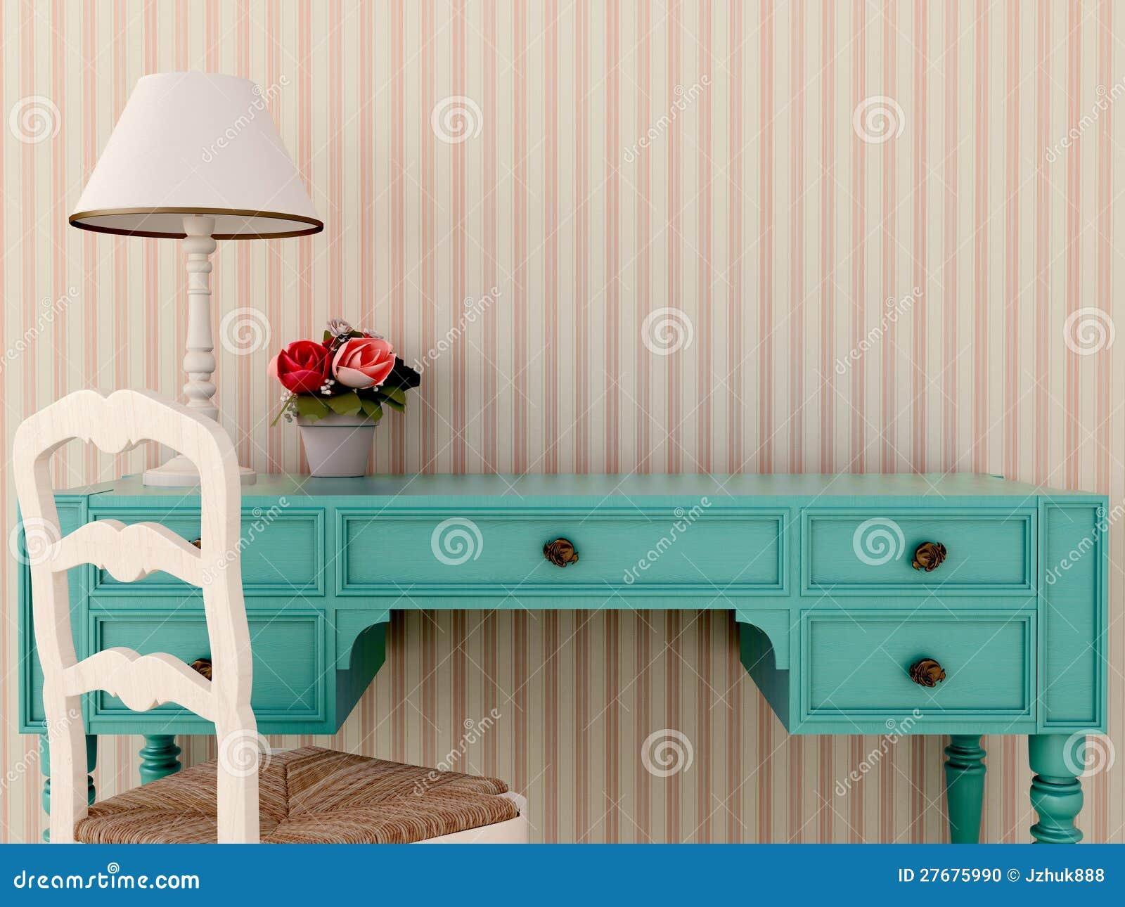 Table et présidence bleues de wark