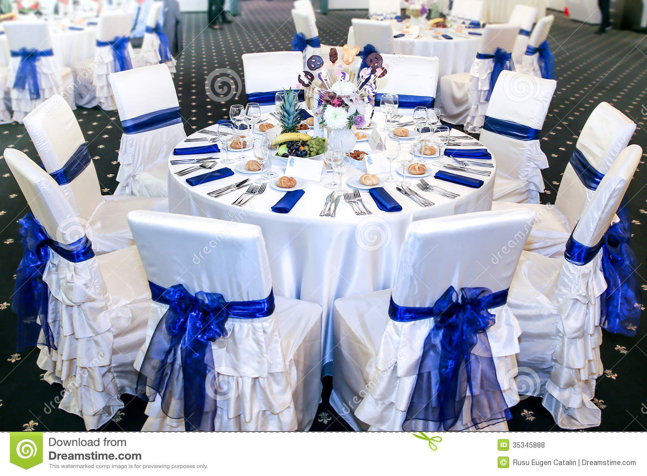 Table Event Royalty Free Stock Photos - Image: 35345888