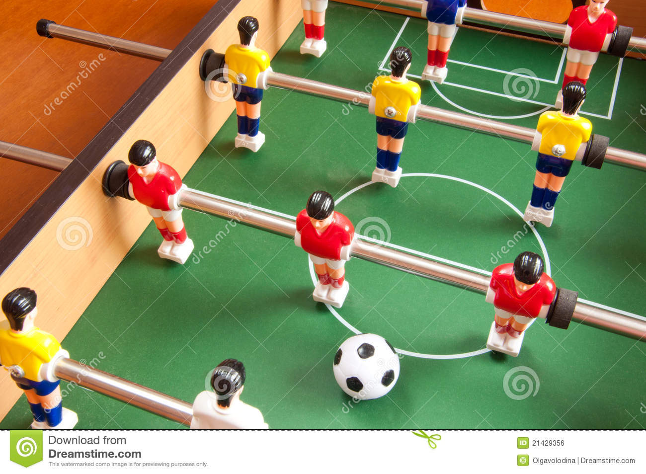 Football Players Toys For Toddlers : Table football royalty free stock image