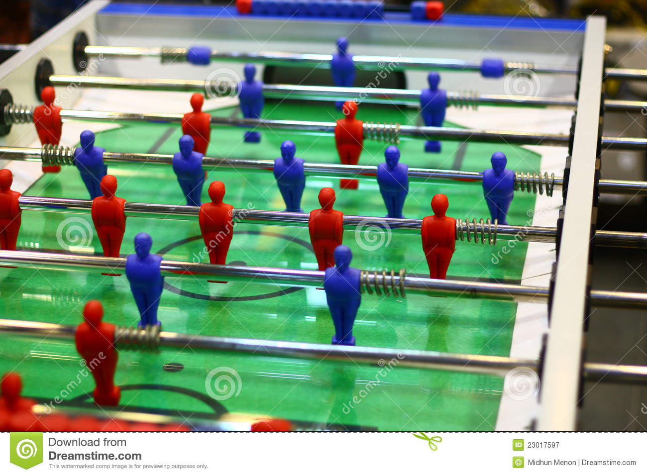 Table Football Indoor Game Royalty Free Stock Photography