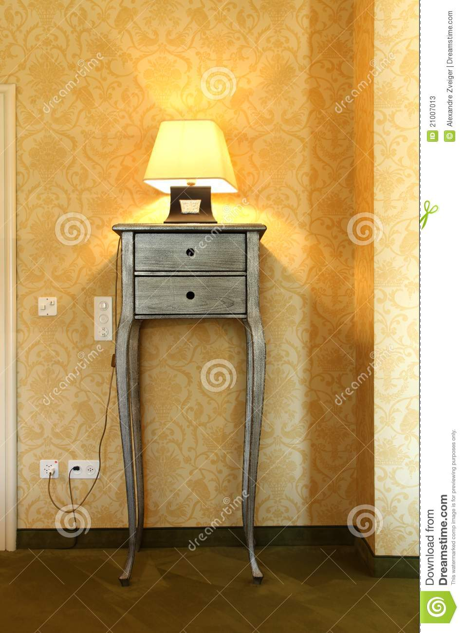 Table and lamp stock image image of wide suite hotel 21007013 royalty free stock photo download table and lamp geotapseo Choice Image