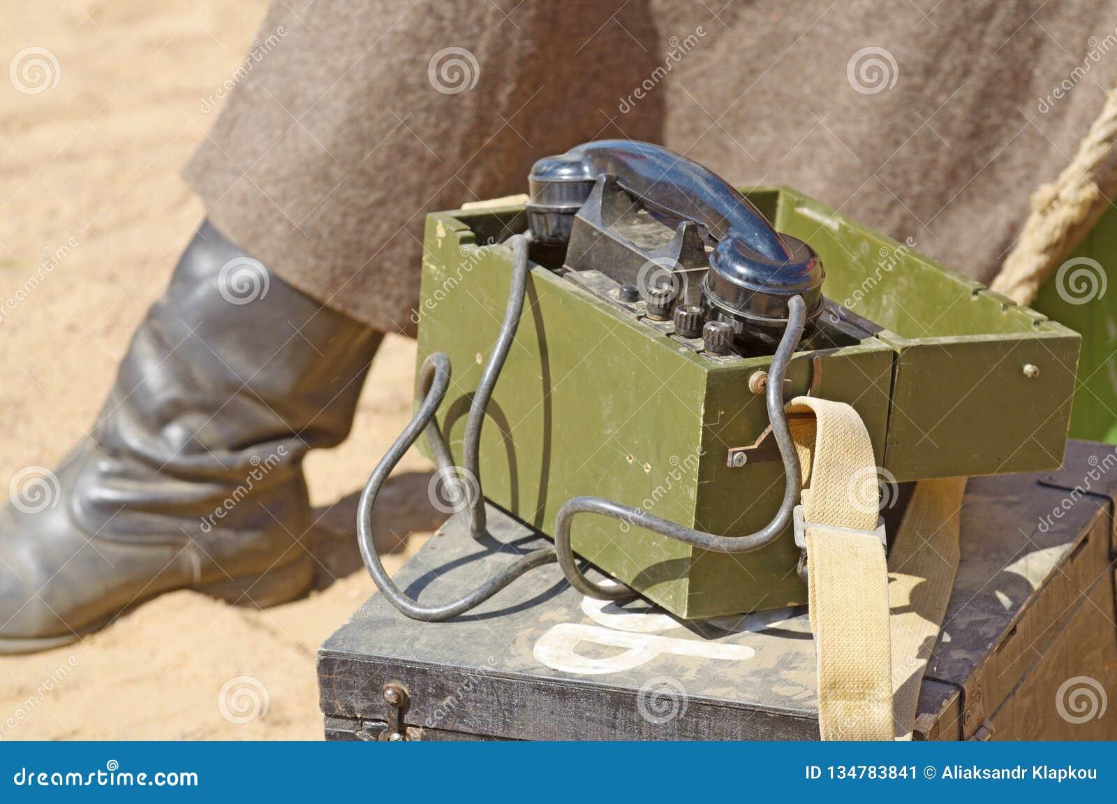 aa56e9c0c60da Military Paraphernalia At The Festival Stock Image - Image of phone ...
