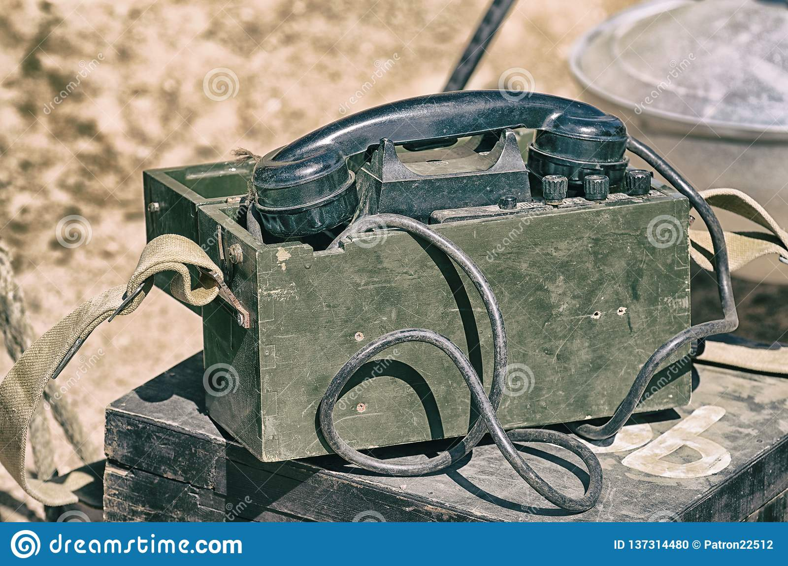 05b9f3444d410 Military Paraphernalia At The Festival Stock Photo - Image of army ...