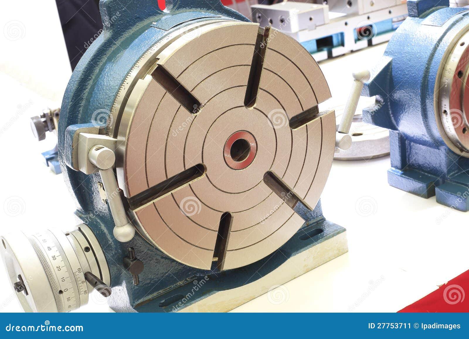 Table rotatoire d équipement industriel
