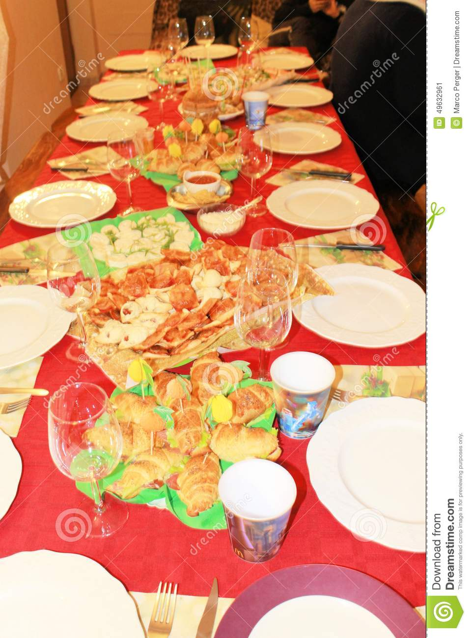 Table Stock Photo Image 49632961