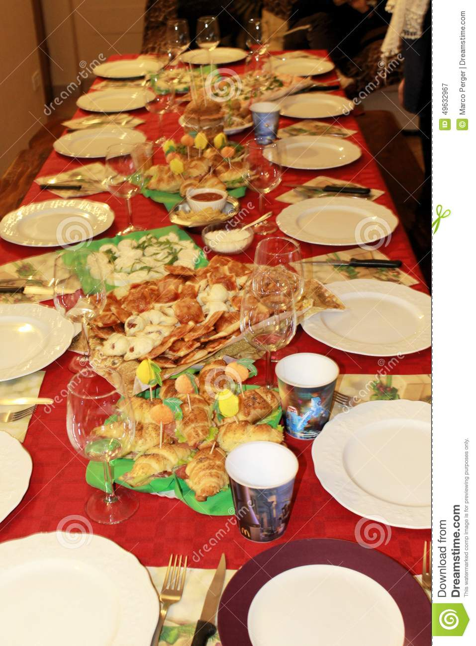 Table Stock Photo Image 49632967
