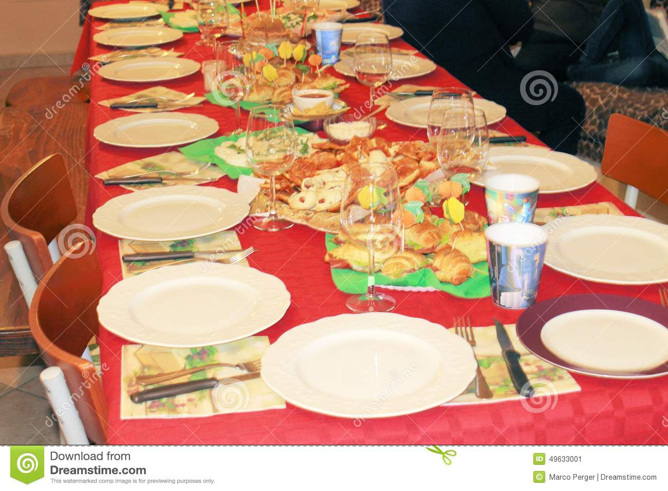 Table Stock Photo Image 49633001