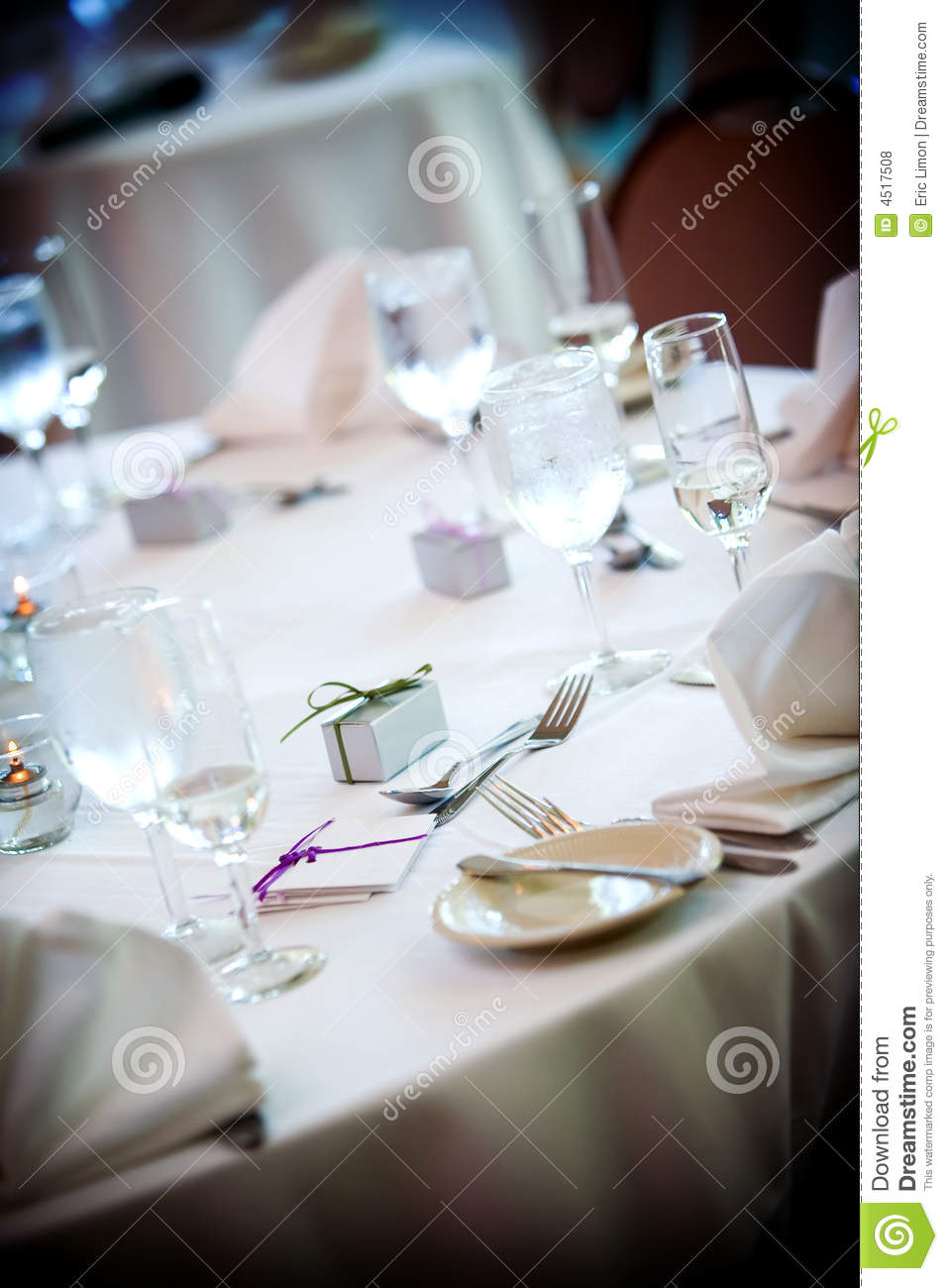Table set for fine dining royalty free stock photos for Fine dining table setting
