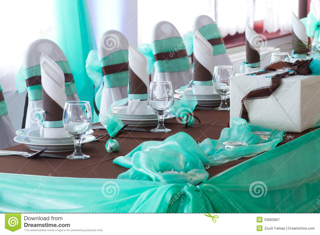 Deco Table Turquoise Chocolat 28 Images Table