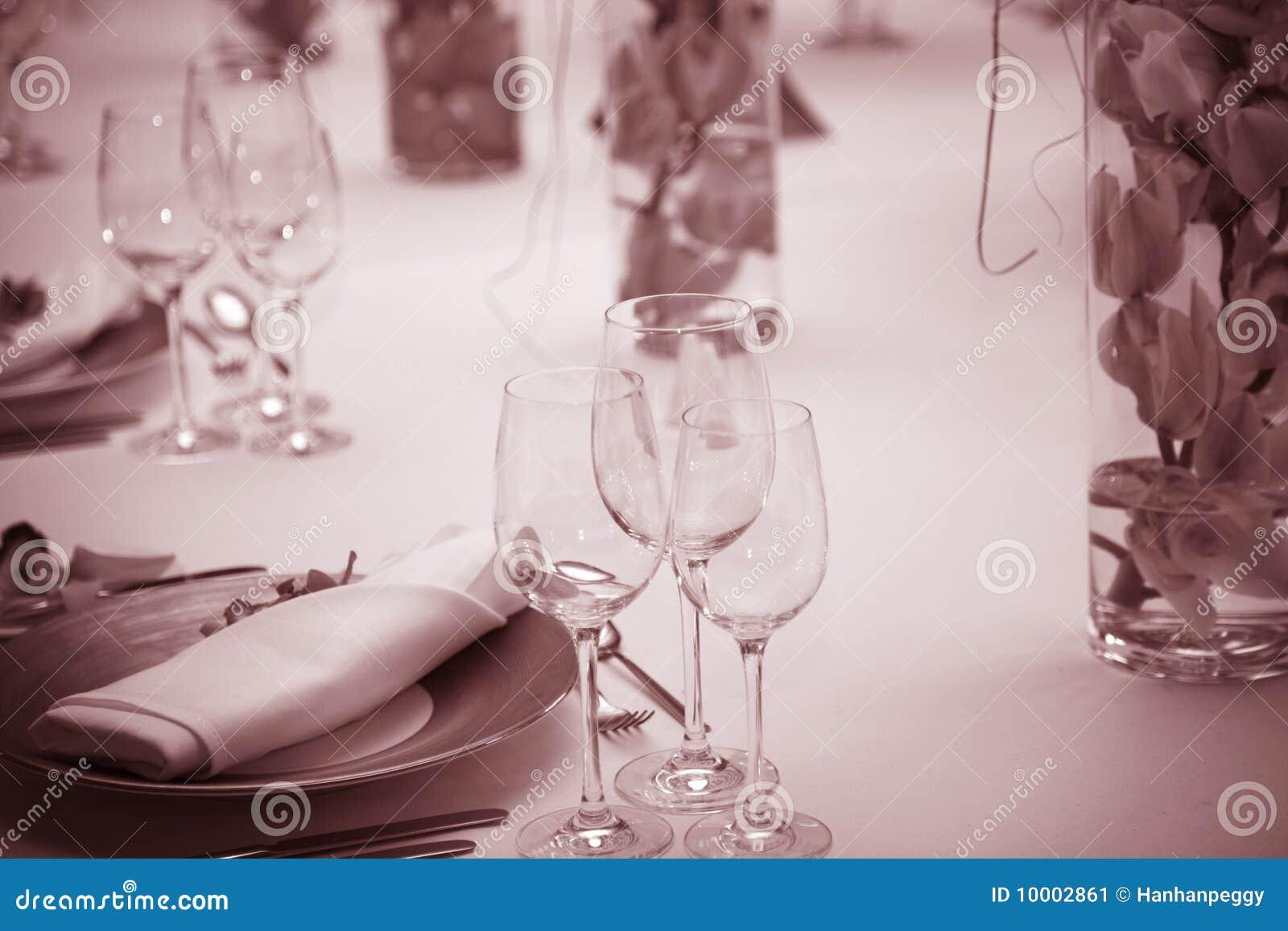Table Setting Background table setting background stock image - image: 10002861