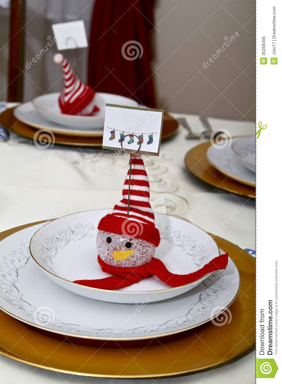 Table Setting Stock Photo Image Of Dinnerware Ornament
