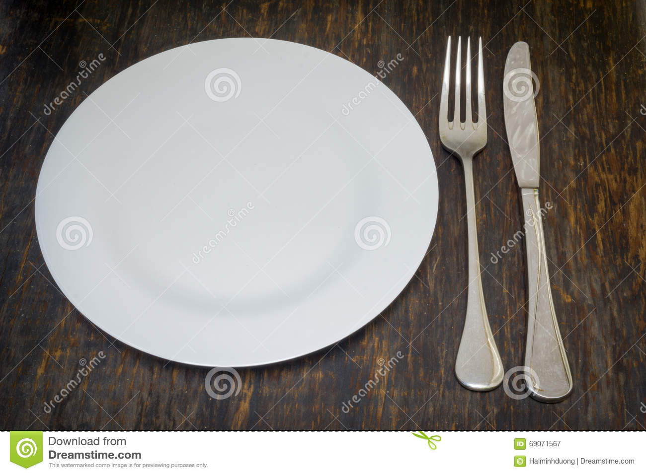 Table setting. Dinner plate fork and knife & Table Setting. Dinner Plate Fork And Knife Stock Image - Image of ...