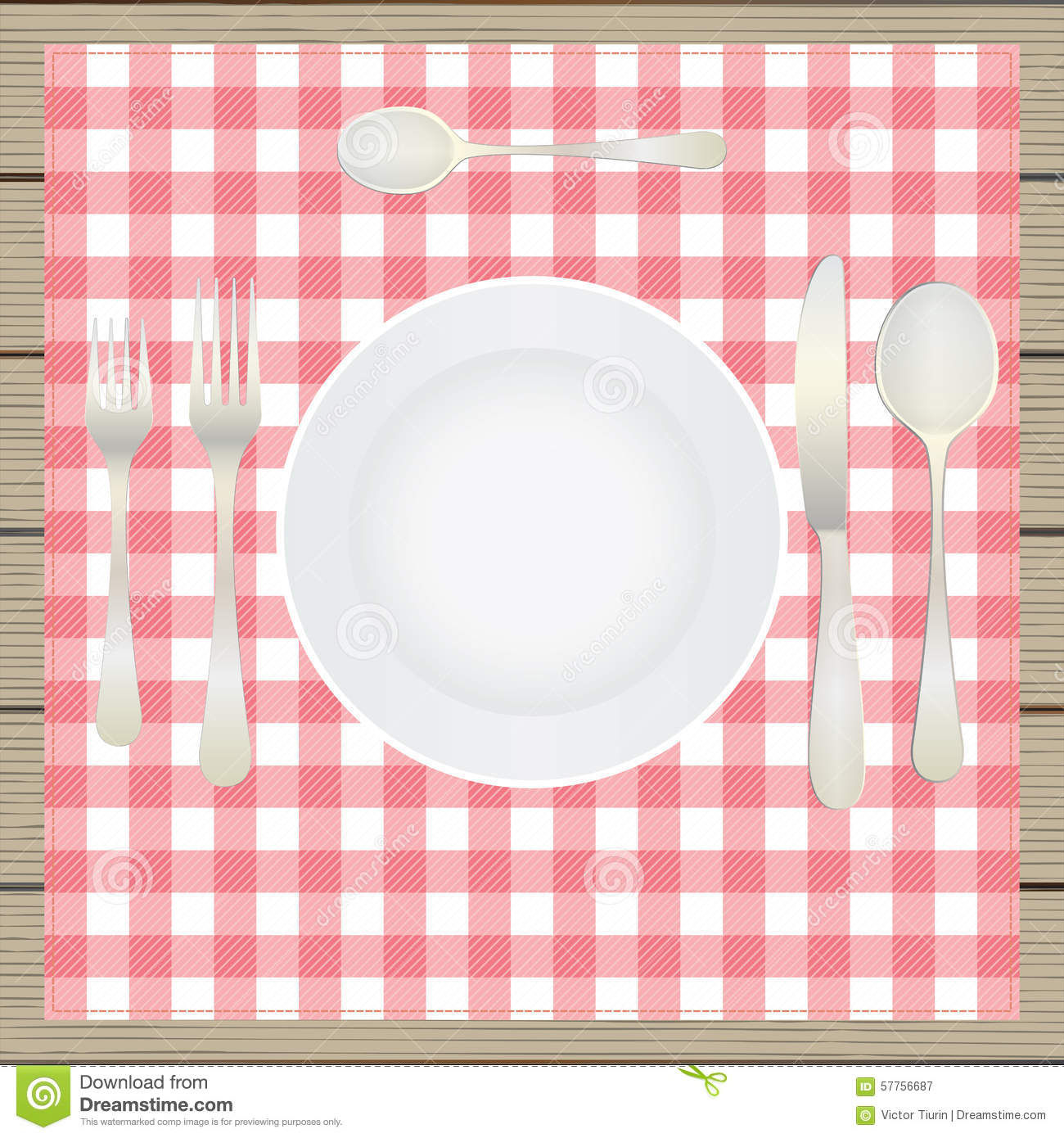 Table setting etiquette plate fork spoon knife table for Place setting images