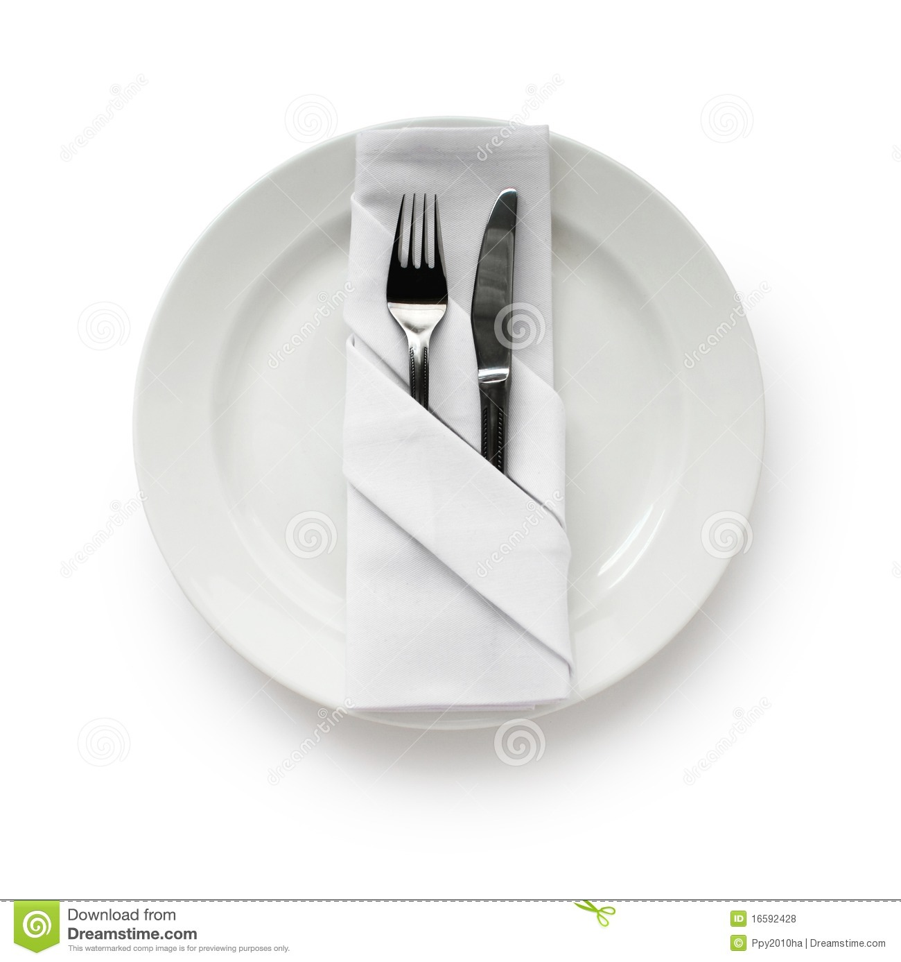 Download comp  sc 1 st  Dreamstime.com & Table SettingFolded Napkin Stock Photo - Image of banquet fold ...