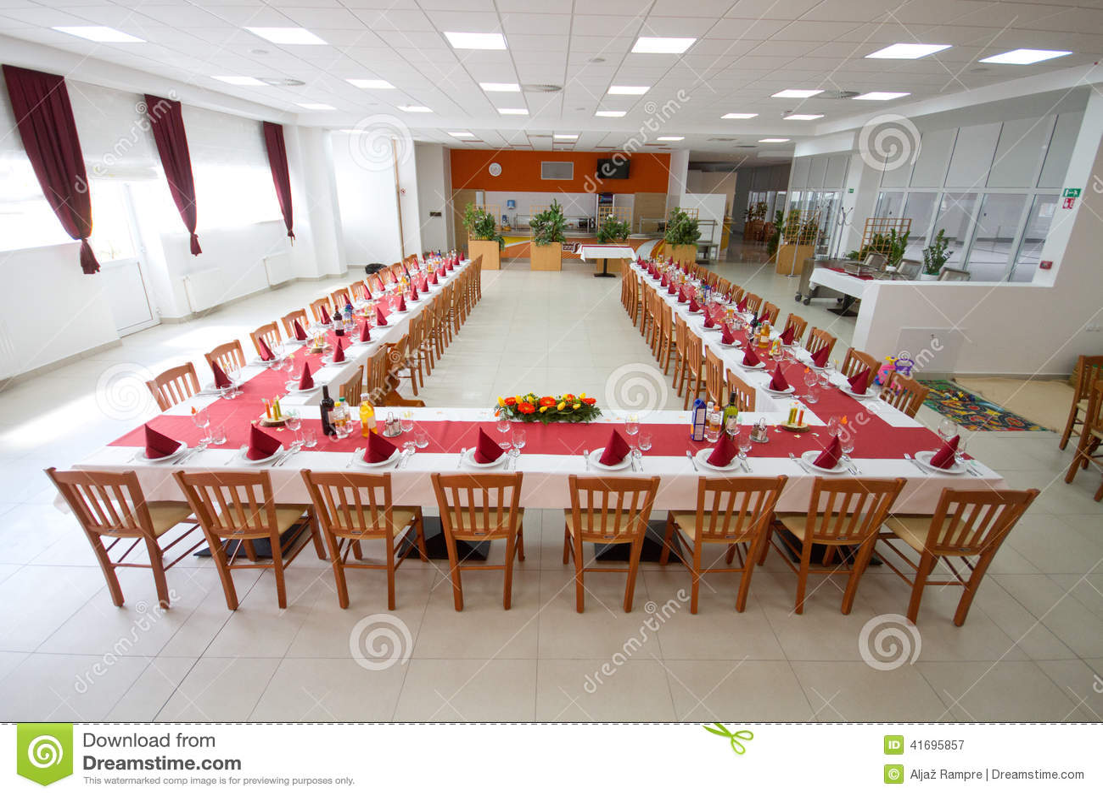 table setting stock photo - image: 41695857