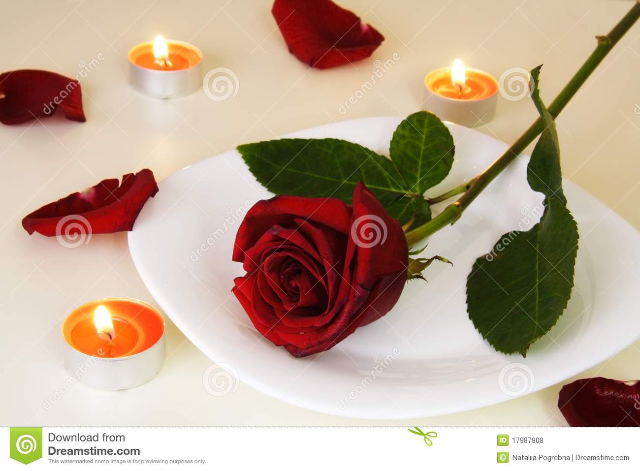 Candle Light Dinner Table Setting Part - 48: Royalty-Free Stock Photo. Download Table Setting For Romantic Candlelight  Dinner ...